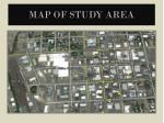 map of study area