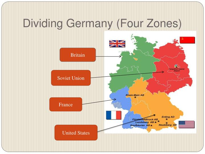 Dividing Germany (Four Zones)
