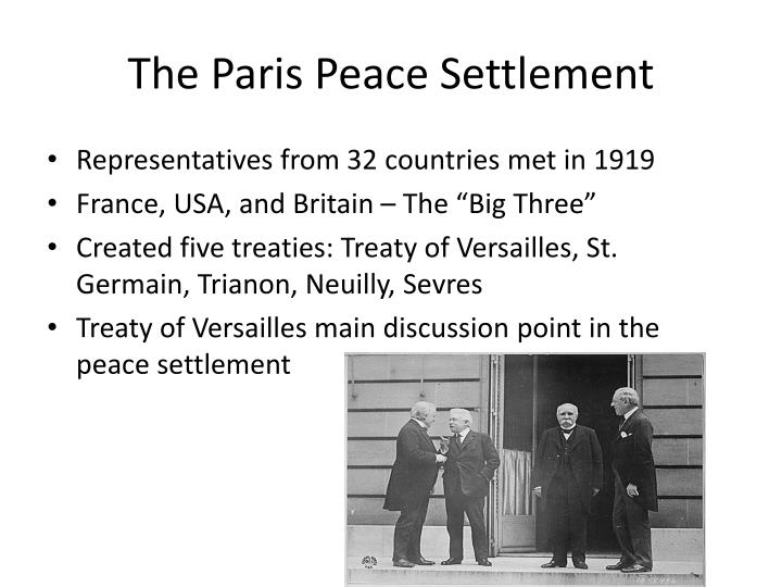 the purpose in the creation of the treaty of versailles The treaty of versailles was the treaty sing to end wwi the treaty gave germany the whole responsible of the war in the treaty germany have to give much of its land,pay almost everything for the war and limited germany's military might.