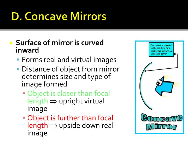 D. Concave Mirrors