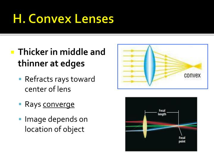 H. Convex Lenses