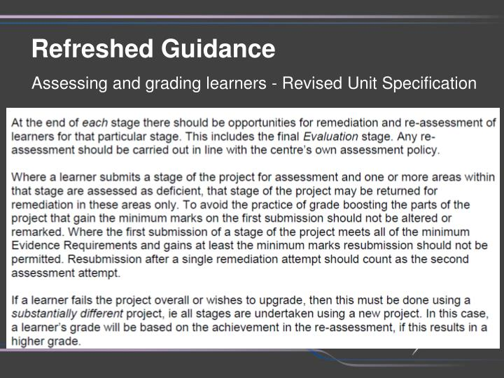 evaluating stage of graded unit Free essays on hnc graded unit evaluation stage get help with your writing 1 through 30.