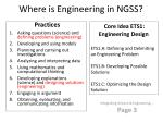 where is engineering in ngss