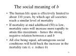 the social meaning of b