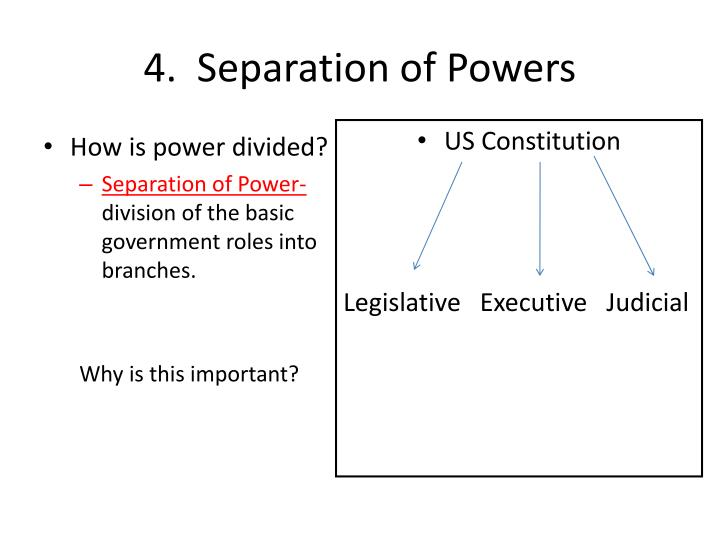 how and why power is divided The five bases of power were identified by john french and bertram raven in the early 1960's through a study they had conducted on power in leadership roles the study showed how different types of power affected one's leadership ability and success in a leadership role.