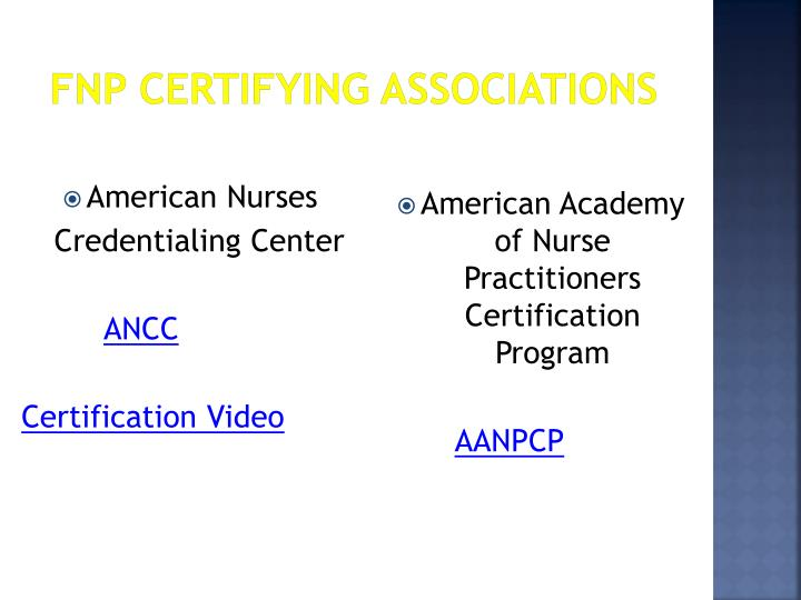 Ppt Certification Licensure Professional Organizations Powerpoint