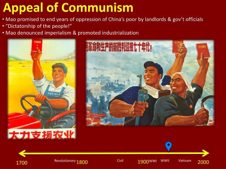 Appeal of Communism