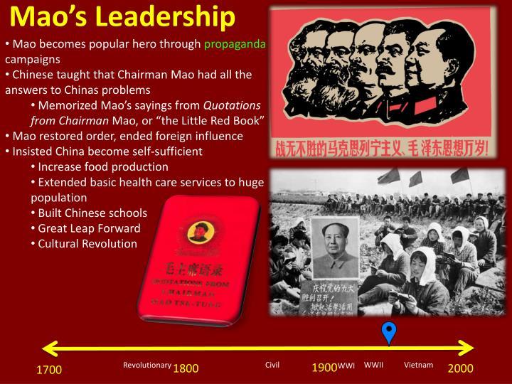 Mao's Leadership