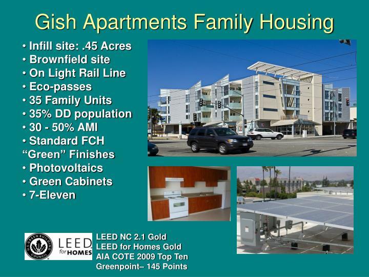 Gish Apartments Family Housing