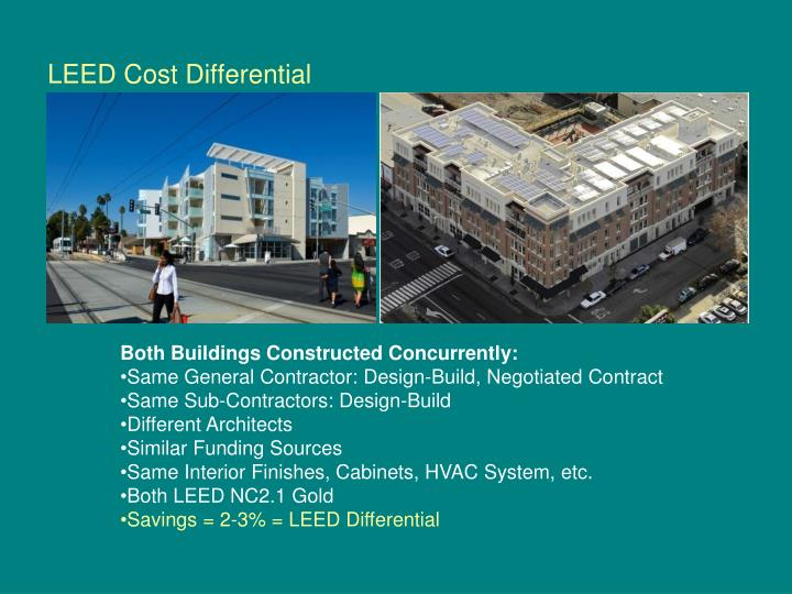 LEED Cost Differential