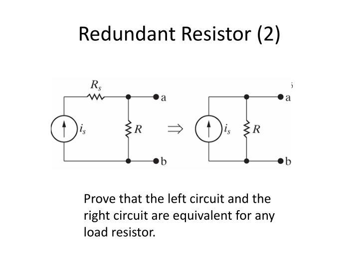 Redundant Resistor (2)