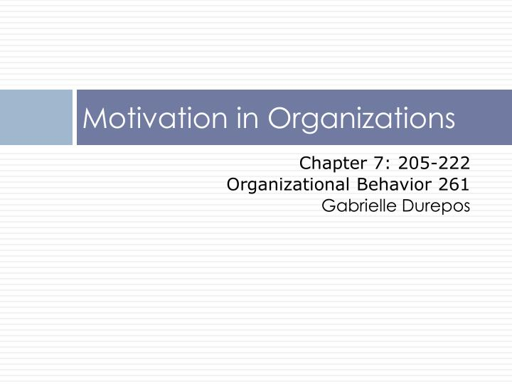 outline for organizational behavior This list of hb press books with associated course outlines helps instructors marketing | organizational behavior harvard business publishing is.