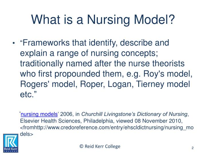 roper logan and tierney Bridgette c williams, a nursing educator, wrote this article as a graduate student in the nursing and health professions department at state university of new york polytechnic institute in utica, ny the author has disclosed that she has no financial relationships related to this article.