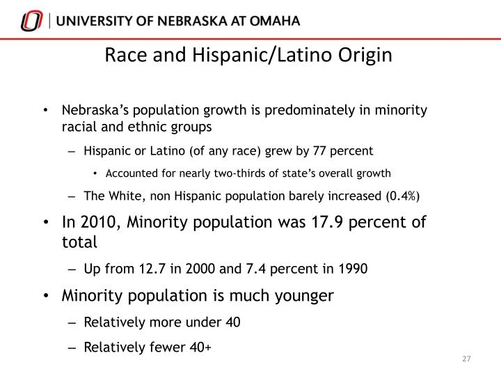Race and Hispanic/Latino Origin