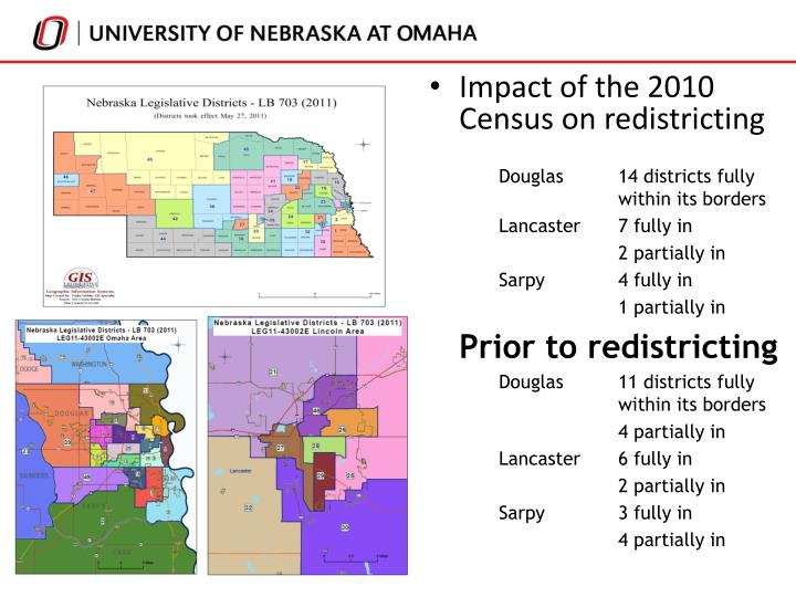 Impact of the 2010 Census on redistricting