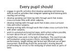 every pupil should