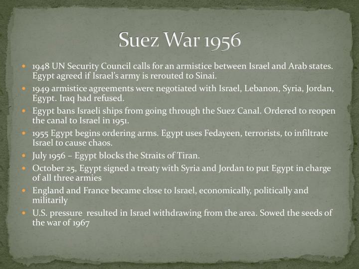 Suez War 1956