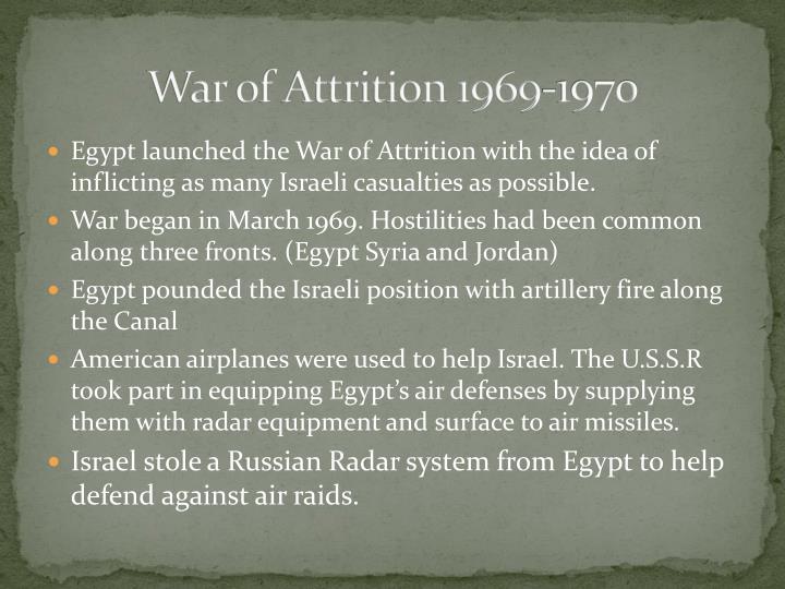 War of Attrition 1969-1970