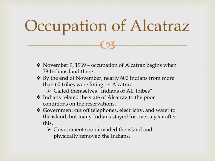 Occupation of Alcatraz