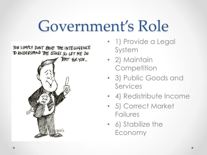 Government s role
