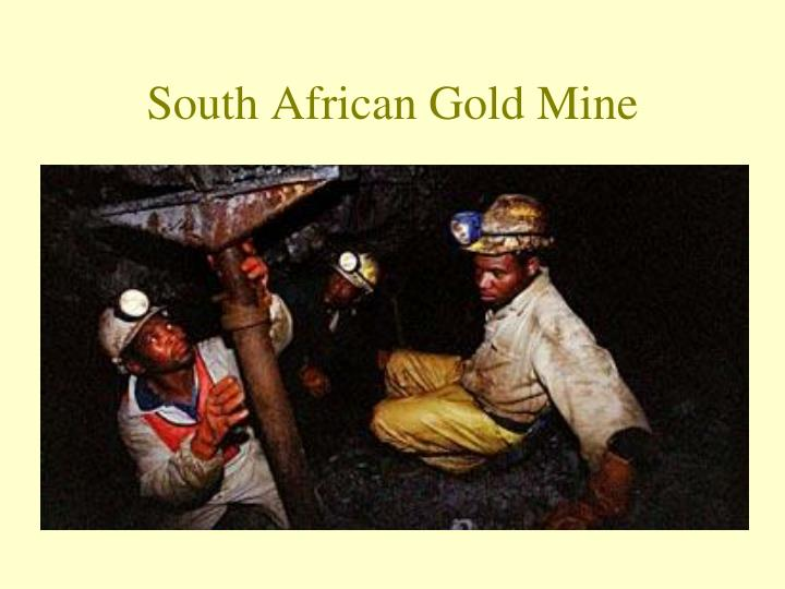 South African Gold Mine