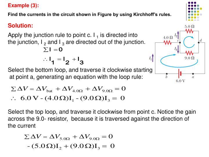 Example (3):