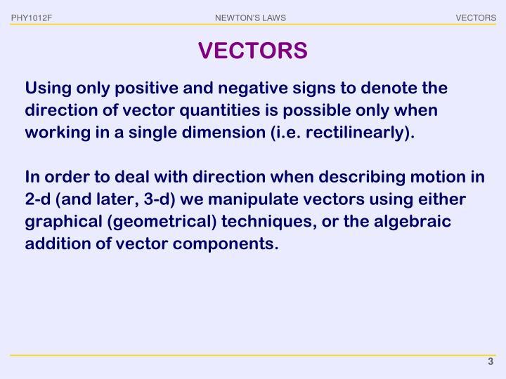Vectors1