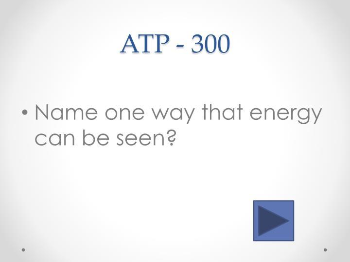 ATP -