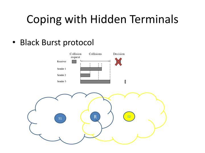 Coping with Hidden Terminals