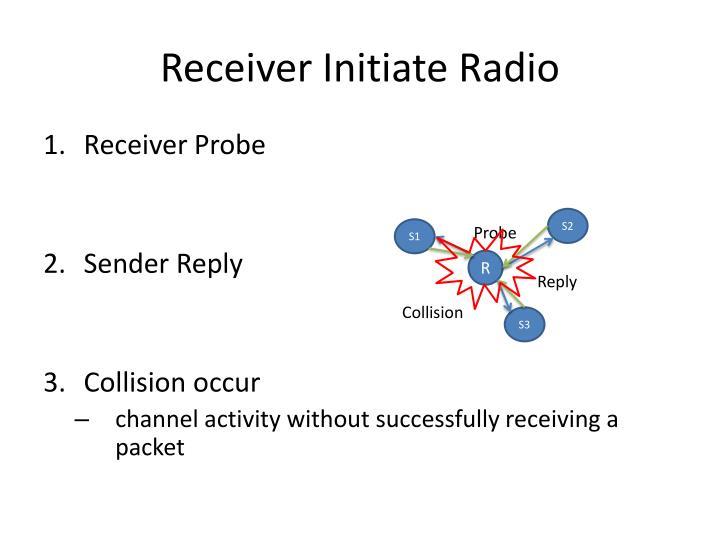 Receiver Initiate Radio
