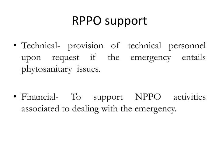 RPPO support