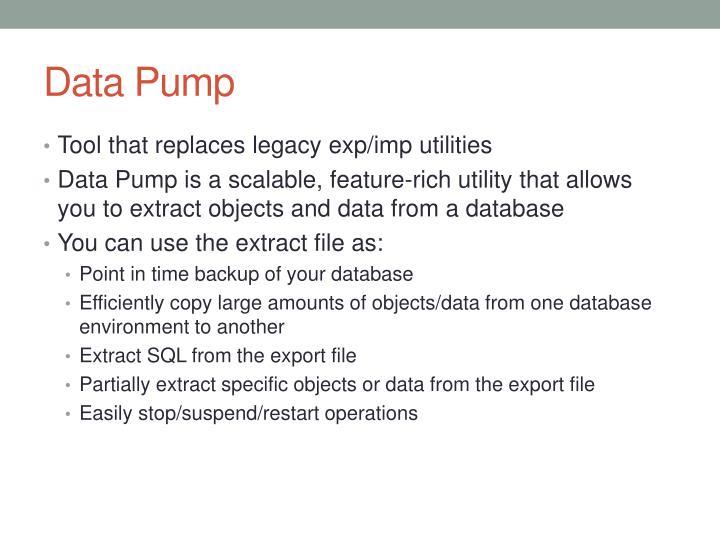 Data pump