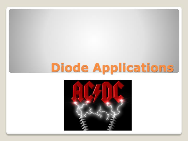 diode applications n.