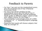 feedback to parents3