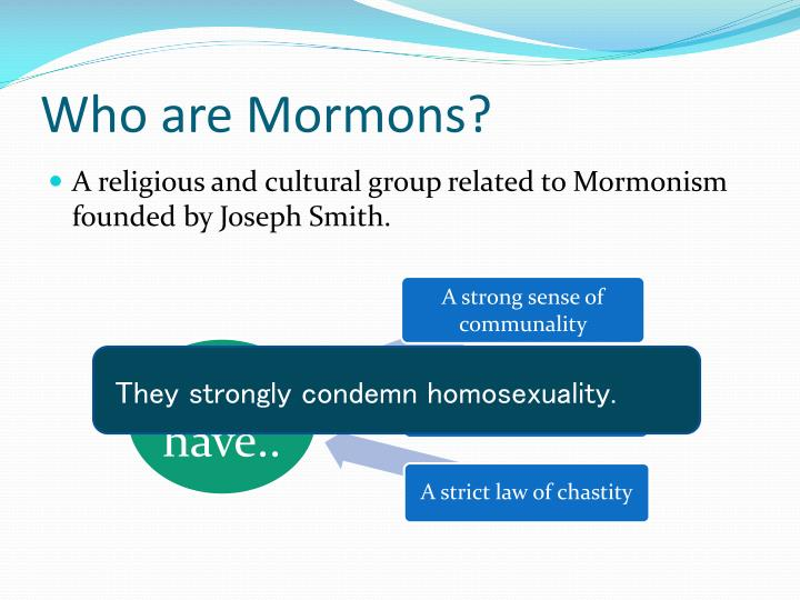 Who are Mormons?