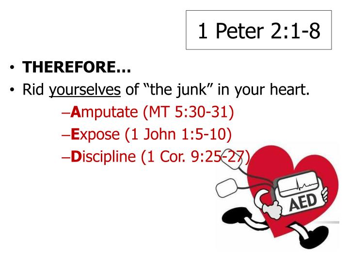 1 Peter 2:1-8