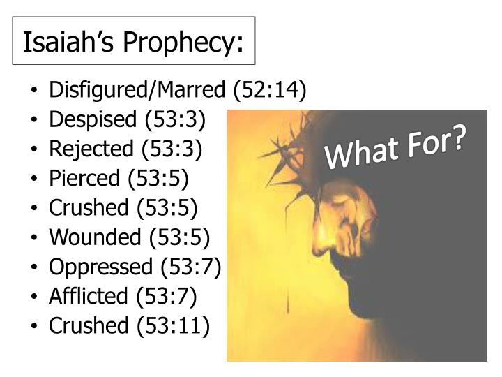 Isaiah's Prophecy: