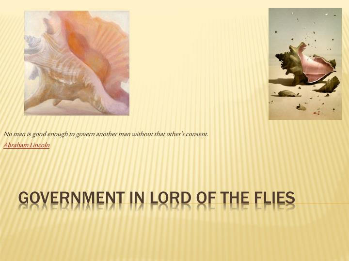 lord of the flies government