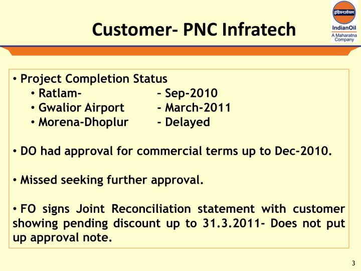 Customer- PNC