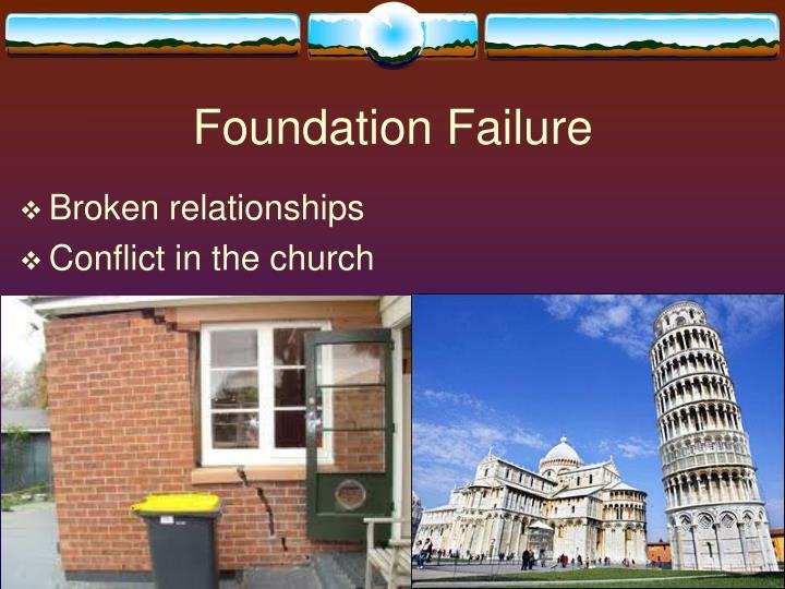 Foundation Failure