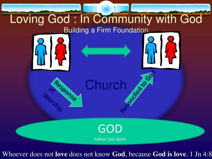 Loving God : In Community with God
