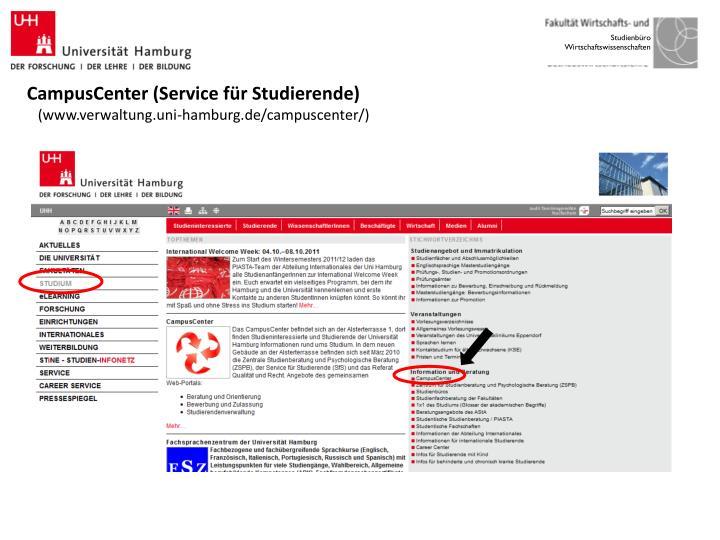 CampusCenter (Service für Studierende)