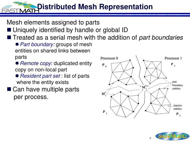 Distributed Mesh Representation