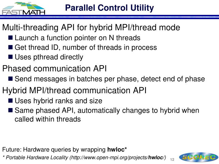 Parallel Control Utility