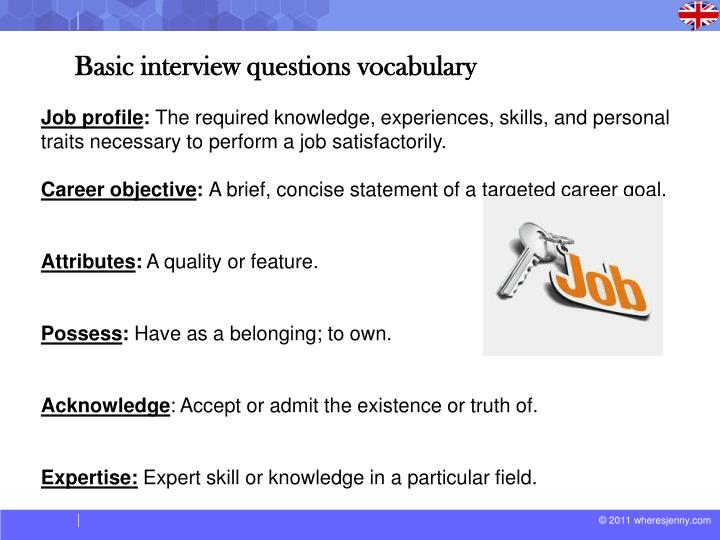 "a personal experience of job interview These questions and answers will have you be prepared for any job interview be prepared for any job interview  if you can position the learning experience as an advantage for this next job, even better read more 15 what are you looking for in a new position  interviewers ask personal questions in an interview to ""see if candidates."