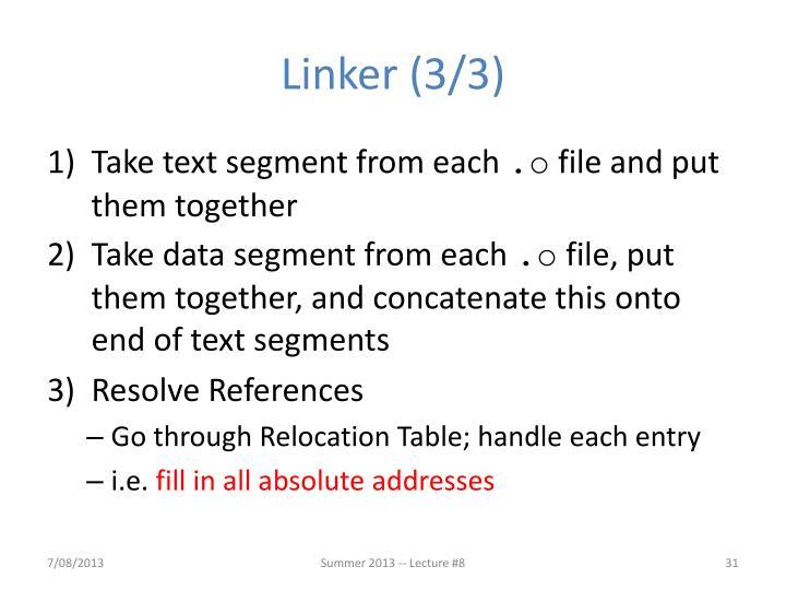 Linker (3/3)