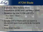 atom blade