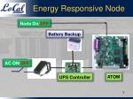 energy responsive node