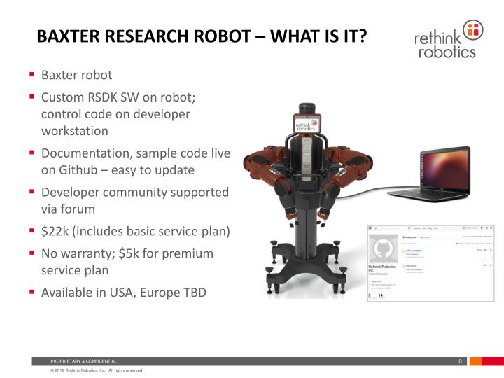 baxter research robot what is it n.