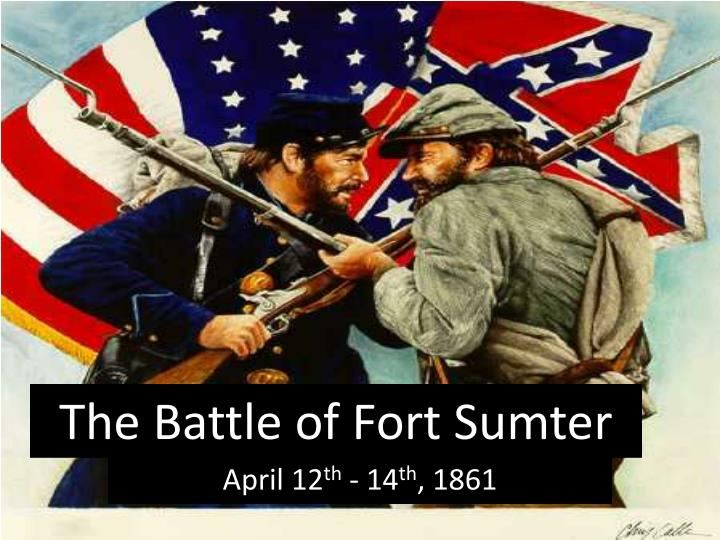 the battle of fort sumter n.